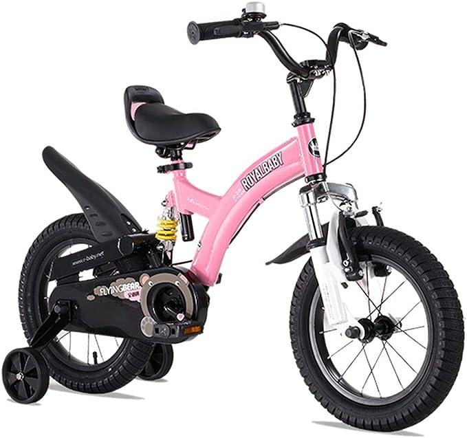 Bicicletas Para Niños Niños Al Aire Libre De Moda Niños para Niños Y Niñas Niños con Estilo Al Aire Libre Niños De 2-10 Años: Amazon.es: Juguetes y juegos