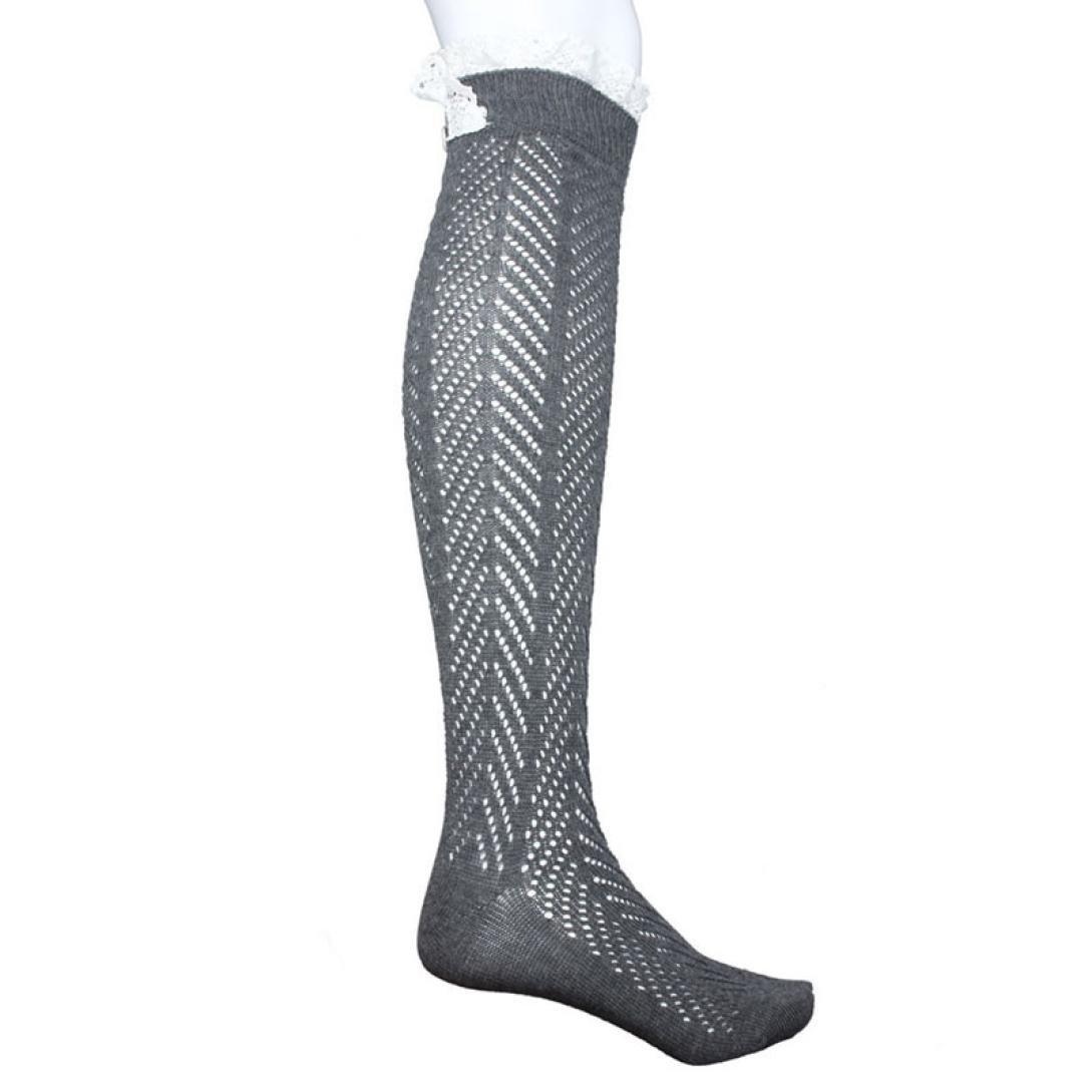 Women Leggings,Sunfei 1 Pair Fashion Women Knit Over Knee Stocking High Socks