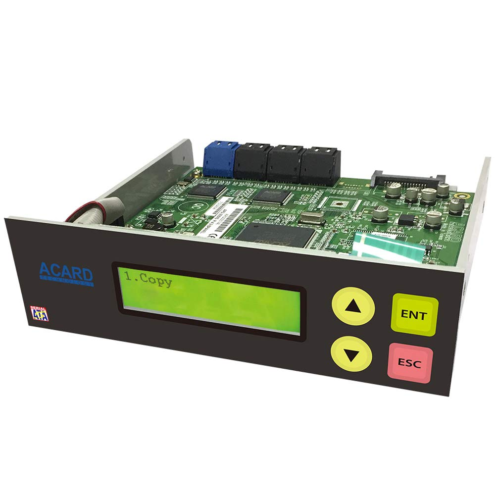 Acard 1 to 5 Controller for DVD/CD Disc Copy Duplicator + SATA Cables