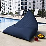 Jaxx Twist Outdoor Bean Bag Chair, Navy