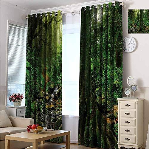 Custom Design Window Curtain Panel for Living/Bedroom Room/Patio Door 108