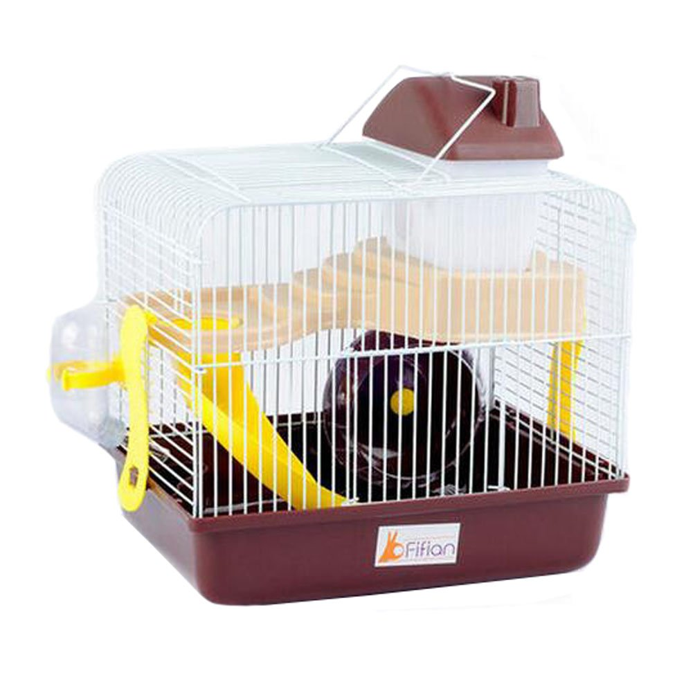 Cute Small Animals Hideout Hut Hamster Mouse Houseactive and colorful Haven,F