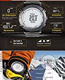 Men's sport Digital watch Hours Running Swimming watches Altimeter Barometer Compass Thermometer Weather Pedometer