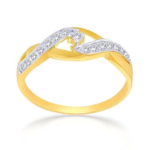 Malabar Gold  amp; Diamonds 22KT Yellow Gold Ring for Women