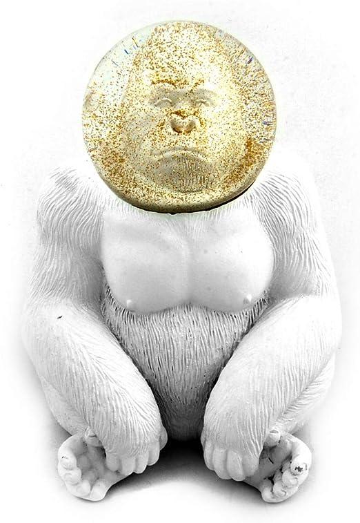 Donkey Products Glitzerkugel Summerglobe The Gorilla Deko Kugel 15 cm 330450