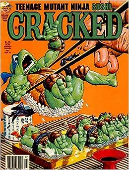 CRACKED MAGAZINE: July 1993 Cover has Ninja Turtles ...