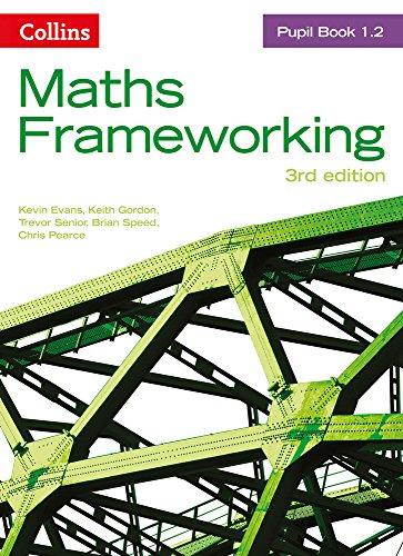 Pupil Book 1.2 (Maths Frameworking) -  Evans, Kevin, Revised Edition, Paperback