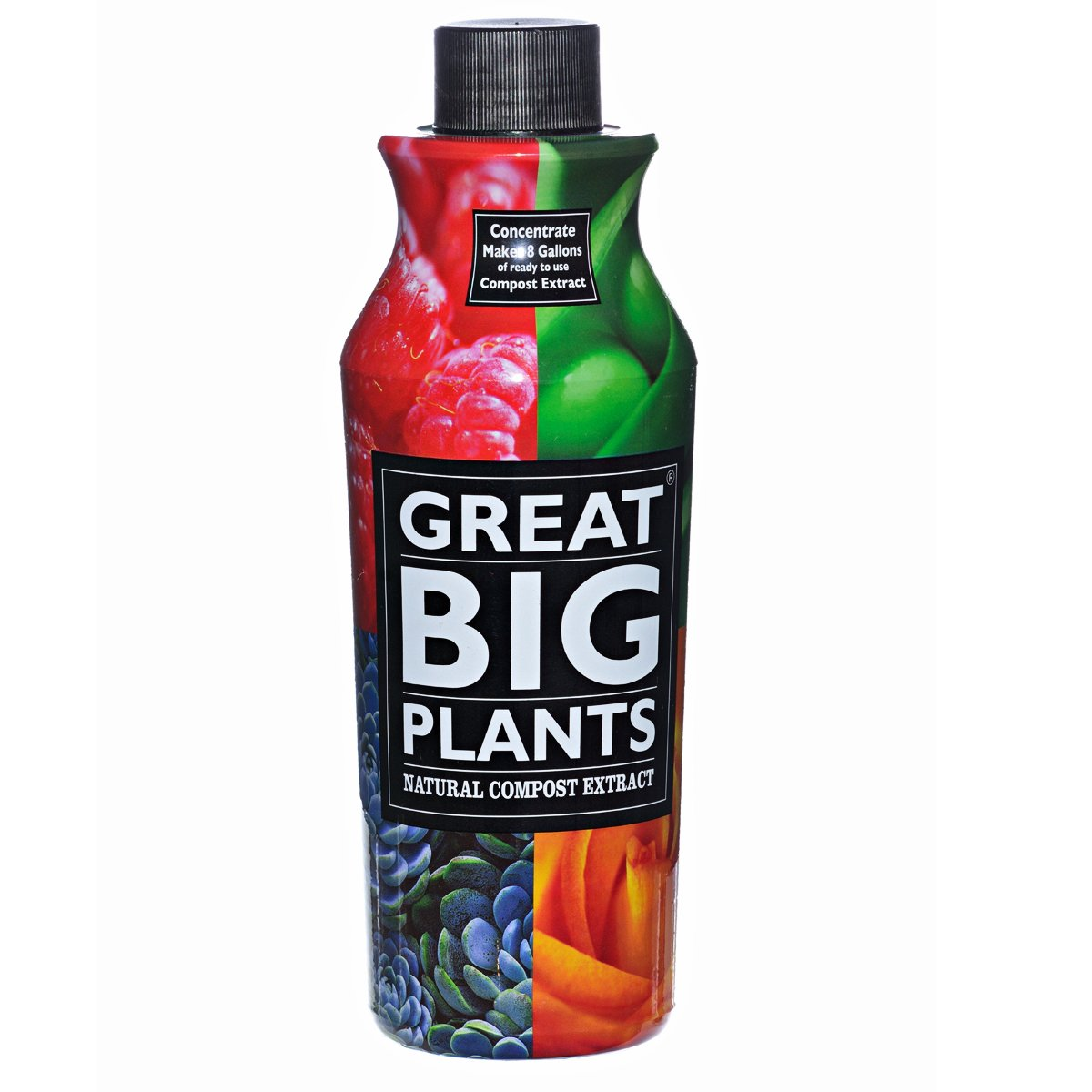 Great Big Plants Natural Compost Extract, Concentrate 32-Ounce