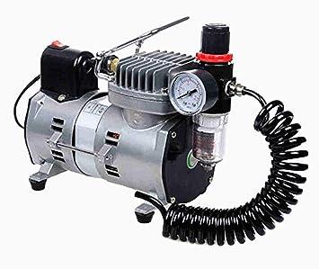 1/8HP modelo Spray bomba Mini compresor de aire para pintura de pared coche pintura 220 V 1450rpm/min: Amazon.es: Hogar