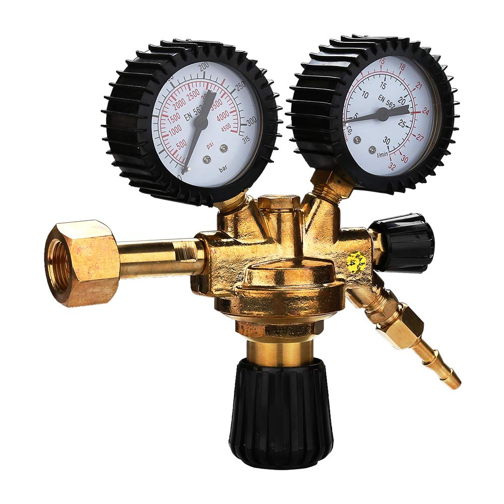 Hengda R/égulateur de pression pour soudeur Argon//Co2 avec gaz de soudure pour MIG//MAG WIG TIG