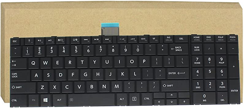 New keyboard for Toshiba Satellite C50 C50-A C55-A5105 C55-A5180 C55-A5249