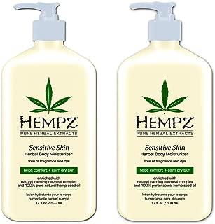 product image for Hempz Sensitive Skin Herbal Body Moisturizer, Off White, 17 Oz Pack Of 2, 17 Oz
