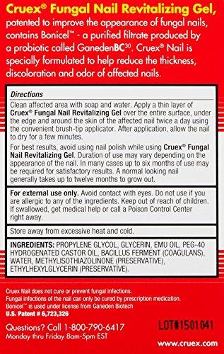 Cruex Fungal Nail Revitalizing Gel-Clear Amber-8 ml by Cruex (Image #1)