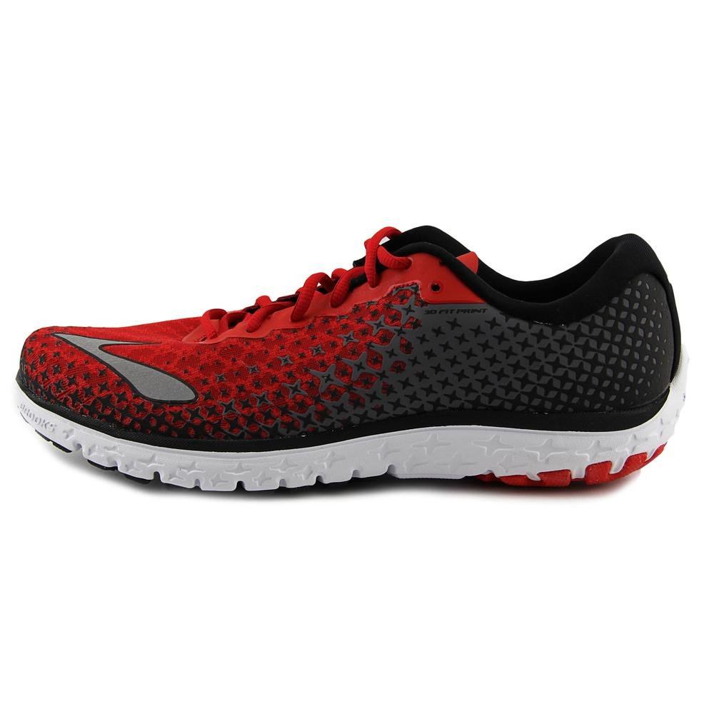 941eeb975b245 Brooks Men's PureFlow 5 High Risk Red/Black/Silver Sneaker 12. 5 D ...