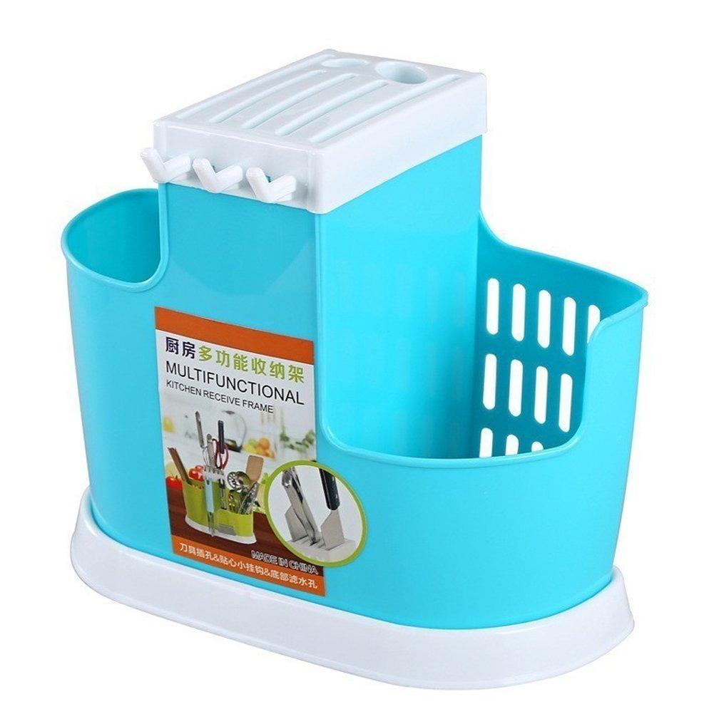 Amazon.com: Kitchen Storage Box Fork Spoon Knife Chopsticks Drying ...