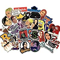 35pcs Laptop Sticker Pack Decals Riverdale Laptop Vinyl Stickers car Sticker for Waterproof Skateboard Car Snowboard Bicycle Luggage Decor Phone Computer DIY Keyboard Luggage Stciker Pack