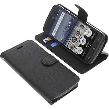 pretty nice f1261 43288 Cover for Doro 8040 book-style black case