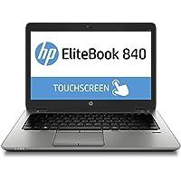 "HP Elitebook 840 G1 14.0"" Touch, Core i7-4600U, 8GB RAM, 256GB SSD (Renewed)"
