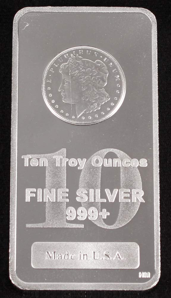 Morgan Design 10oz Silver Bar