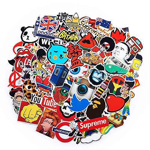 2018 Latest Style 100Pack SuprCool Stickers Set Random