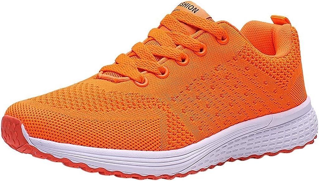 Zapatos para Mujer Zapatos Deportivos de Tejido Volador para Mujer ...
