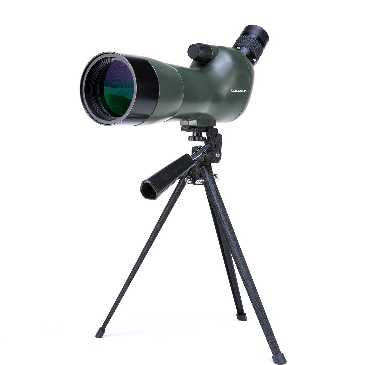 NOCOEX®20-60X60 Zoom Magnification Telescope - Waterproof, Fogproof -Tri-pod For Hands Canon SLR photography For Bird Watching, or Wildlife(Army Green) EX6108