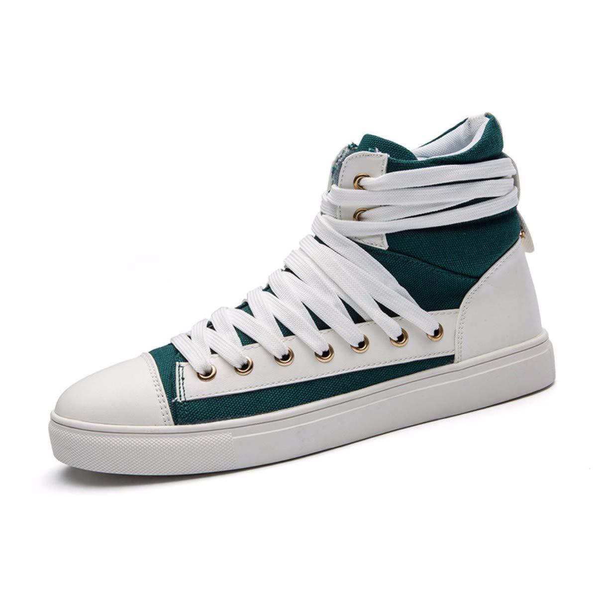 KMJBS-Männer - Schuhe Hohe Leinwand Schuhe Die Junge  Herrenchen