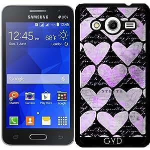 Funda para Samsung Galaxy Core 2 SM-G355 - Patrón De Corazón by Andrea Haase