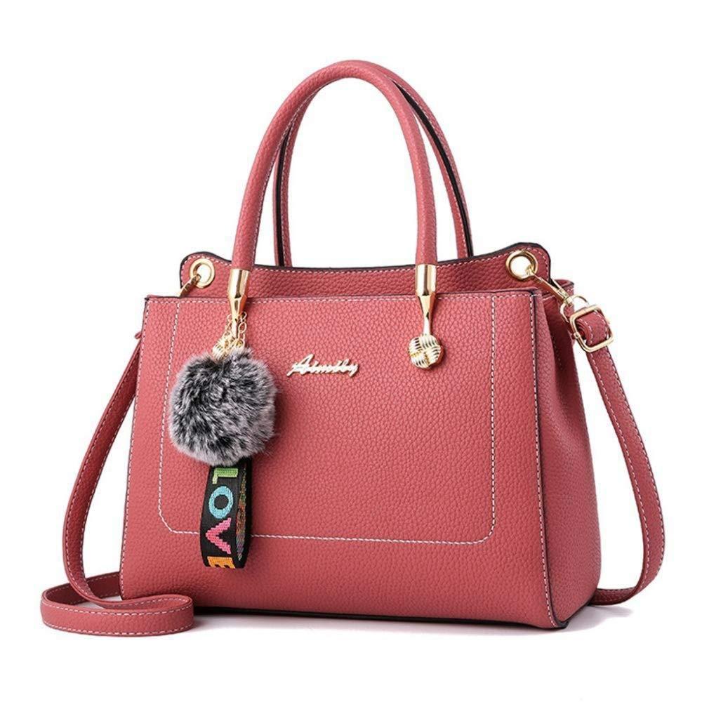 Pink OFZYG Handbag Cross Body Bags Beach Bags and Totes 2018 Fashionable Lady Bag Pendant Handbag Single Shoulder Diagonal Girl Bag