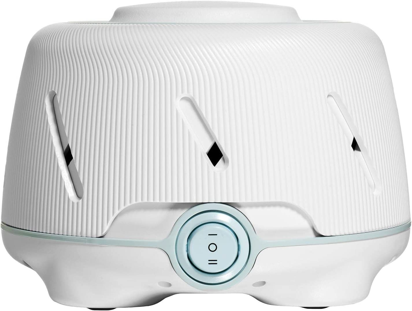 Yogasleep Dohm (White/Blue)   The Original White Noise Machine   Soothing Natural Sound from a Real Fan   Noise Cancelling   Sleep Therapy, Office Privacy, Travel   For Adults & Baby   101 Night Trial