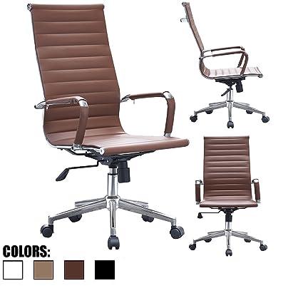 Amazoncom 2xhome Mid Century Modern Contemporary Brown Desk