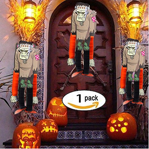 Halloween Decorations Yard Prop Make Up Home Door Décor Zombie 43 inch Outdoor Overed Porch Party Assorted Supplies Accessories Indoor Wall Ornaments Toys kit (zombie)