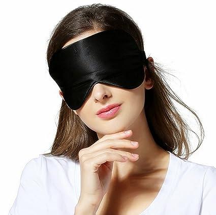 natural Seda Dormir máscara venda para los ojos, Super lisa Ojo Máscara