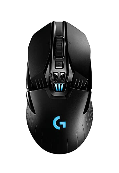 Logitech G903 Lightspeed Wireless Gaming Mouse W/Hero 16K Sensor, 140+ Hour  with Rechargeable Battery and Lightsync RGB  PowerPlay Compatible,