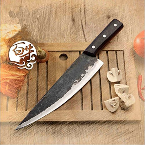 Metal Forged Handmade Clip Steel Chef Boning Knife Split Butcher Meat Knife Kitchen Professional Slicing Knives