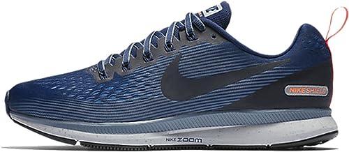 NIKE Air Zoom Pegasus 34 Shield, Zapatillas de Deporte para Hombre ...