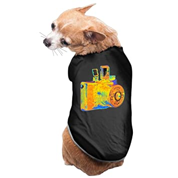 Art Fashion Watercolor cámara Cozy Lovely diseño de perro ropa mascota suministros: Amazon.es: Productos para mascotas