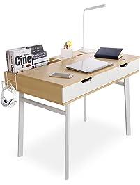 lifewit computer desk pc laptop desk large study table with storage