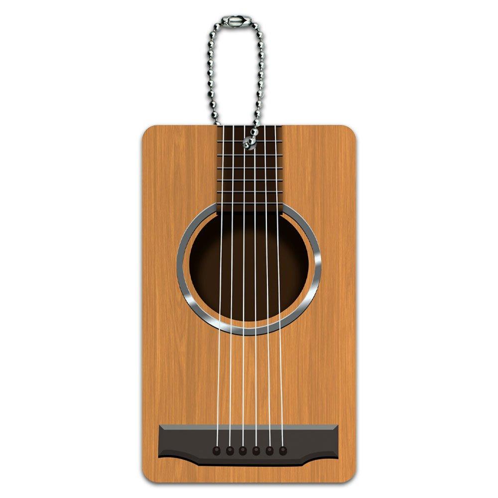 Amazon.com: Cuerdas para guitarra acústica tarjeta de ID Tag ...