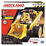 Meccano Erector by, Bulldozer Model Vehicle Building Kit, for Ages 8 and up, STEM Construction Education Toy