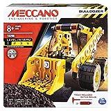 Meccano Erector Bulldozer Model Vehicle Building Kit Ages 8 up, STEM Construction Education Toy
