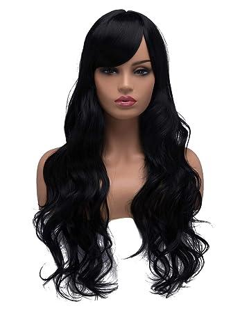 BESTUNG Long Curly Wavy Wigs for Women Ladies