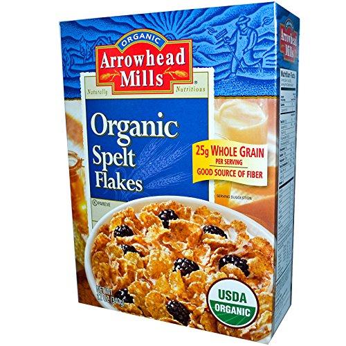 Arrowhead Mills Spelt Flakes (Arrowhead Mills, Organic Spelt Flakes, 12 oz (340 g) -)