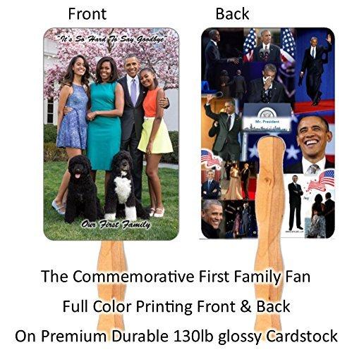 50 Premium Assorted Church Hand Fans ()
