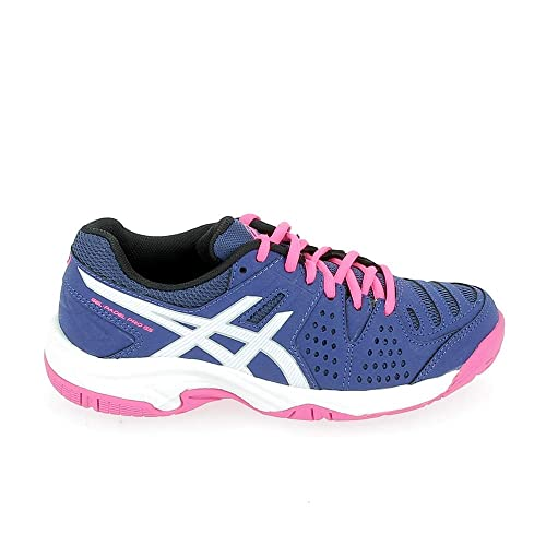 Asics Gel Padel Pro 3 GS Blue Print White Azul Rosa: Amazon ...