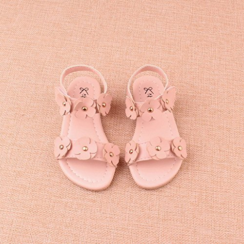 NiñOs Y NiñAs Cerrado Toe Casual Verano Playa Zapatos Sandalias Sandalias Al Aire Libre rosado