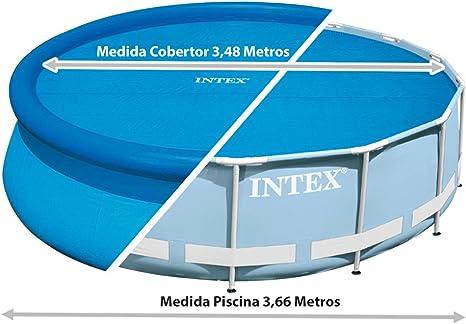 Intex 29022 - Cobertor solar para piscinas 366 cm de diámetro ...