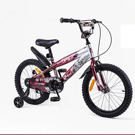 MAZHONG Bicicletas Bicicletas para niños de 18 pulgadas Niños y ...