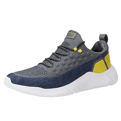 Tefamore Zapatillas Hombres Deporte Running Sneakers Zapatos para ...