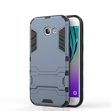 Cocomii Iron Man Armor Galaxy A5 2017 Funda [Robusto] Superior Táctico Sujeción Soporte Antichoque Caja [Militar Defensor] Cuerpo Completo Case ...